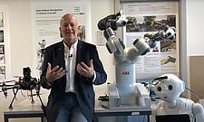ETH Ask the expert - Roland Siegwart on the topic of robotics