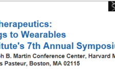 "Wyss Institute at Harvard, 7th Annual Symposium ""Mechanotherapeutics: From Drugs to Wearables"""