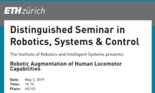 Distinguished Seminar in Robotics, Systems & Control