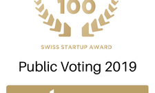 Top 100 Swiss Startup Award – vote now!