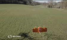 Reuters Video - Wingtra drone is helicopter-plane hybrid